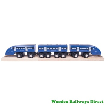 Bigjigs Wooden Railway High Speed One Train