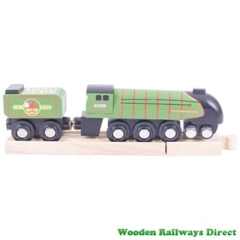 Bigjigs Wooden Railway Heritage Collection Eisenhower Train