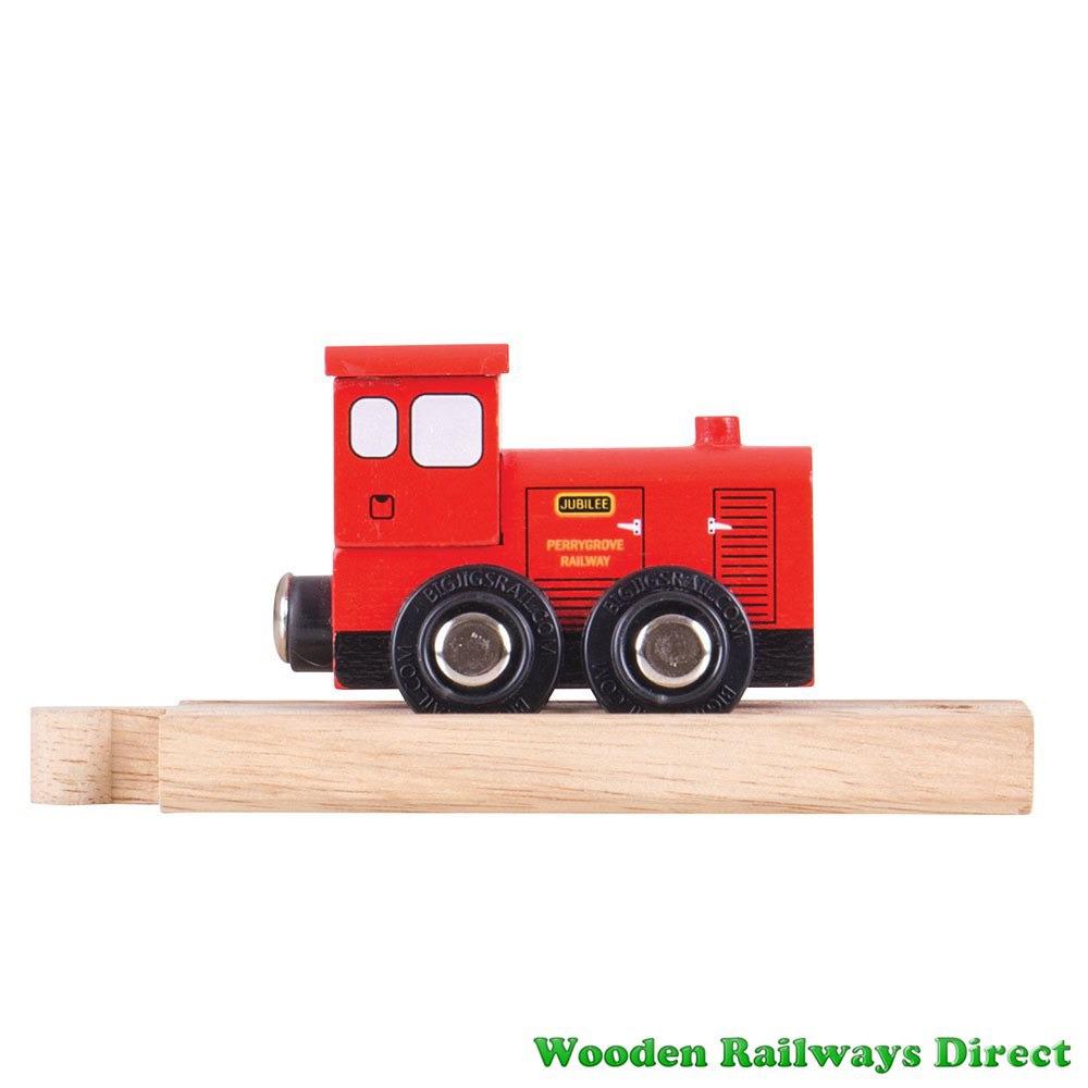Bigjigs Wooden Railway Perrygrove Jubilee Train