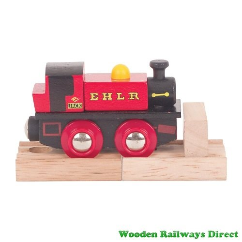 Bigjigs Wooden Railway EHLR Jack Engine
