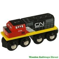 Bigjigs Wooden Railway CN Engine