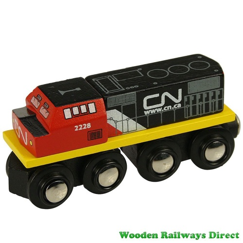 Bigjigs Wooden Railway CN Engine