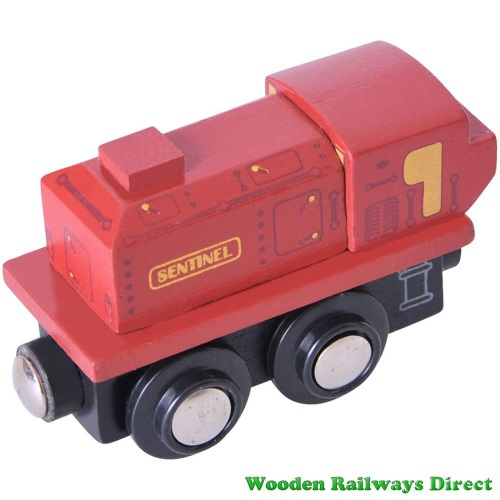 Bigjigs Wooden Railway Sentinel Engine