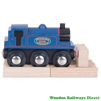Bigjigs Wooden Railway Kent and East Sussex Bodiam Engine