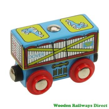 Bigjigs Wooden Railway Fish Wagon