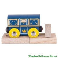 Bigjigs Wooden Railway Royal Carriage