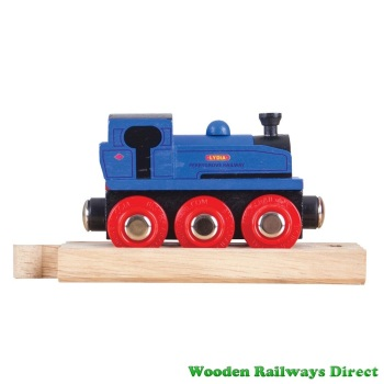 Bigjigs Wooden Railway Perrygrove Railway Lydia Engine