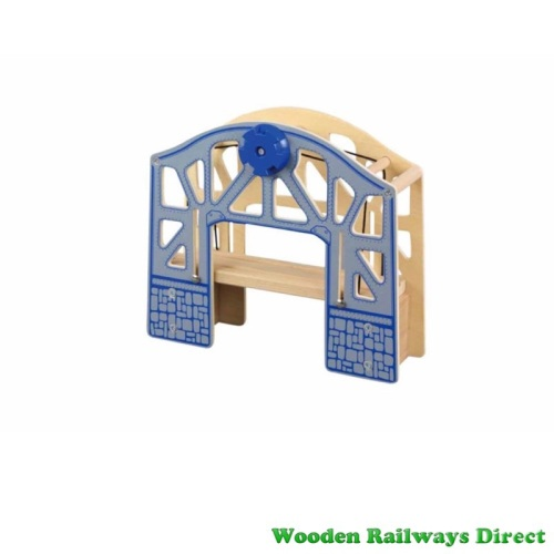 Wooden Railway Lifting Bridge