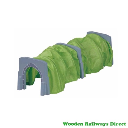 Wooden Railway Expandable Tunnel