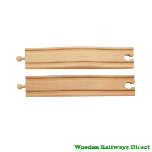 Wooden Railway Bump Track (Pack of 2)