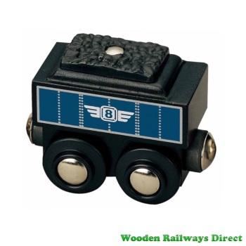 Wooden Railway Coal Tender Wagon