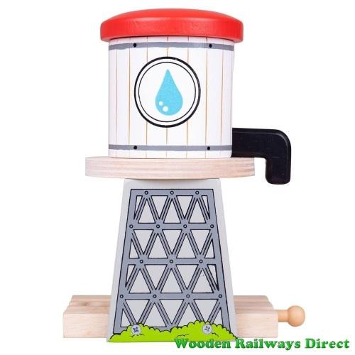 Bigjigs Wooden Railways Water Tower