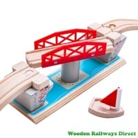 Bigjigs Wooden Railway Swing Bridge