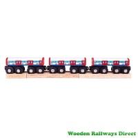 Bigjigs Wooden Railway Underground Train