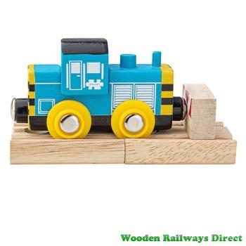 Bigjigs Wooden Railway Class 7 Diesel Shunter