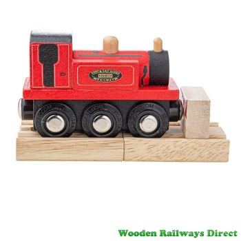 Bigjigs Wooden Railway Terrier Loco Engine