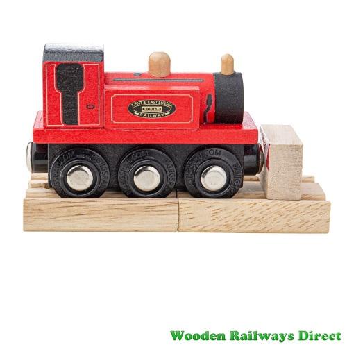 Bigjigs Wooden Railway Terrier Loco Engine
