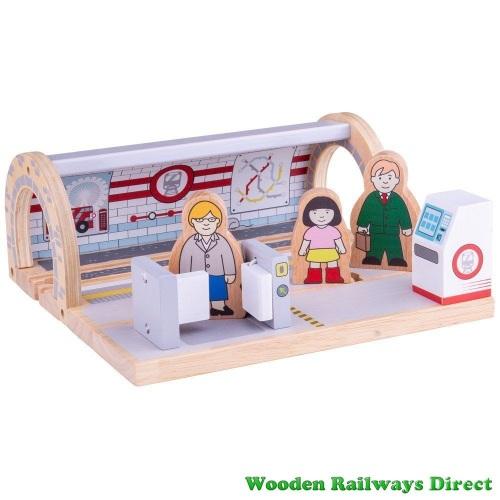 Bigjigs Wooden Railway Underground Station