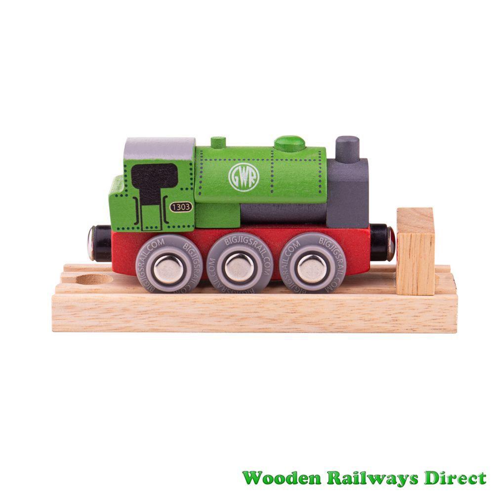 Bigjigs Wooden Railway GWR Saddle Engine