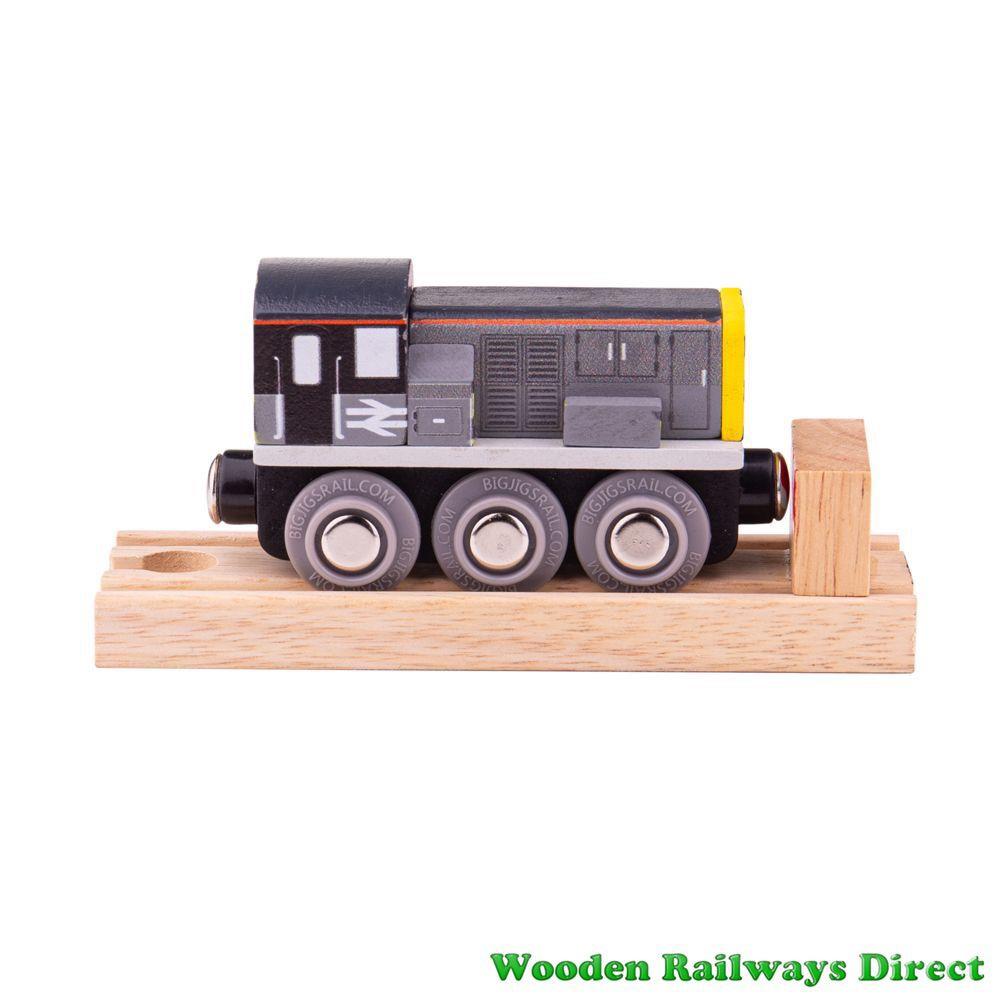 Bigjigs Wooden Railway Class 8 Diesel Shunter
