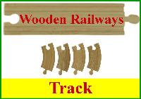 Wooden Railway Track