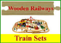 Wooden Railway Train Sets