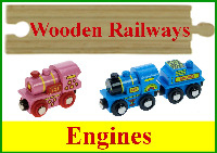 Wooden Railway Engines