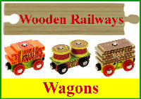 Wooden Railway Wagons