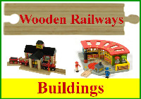 Wooden Railway Buildings