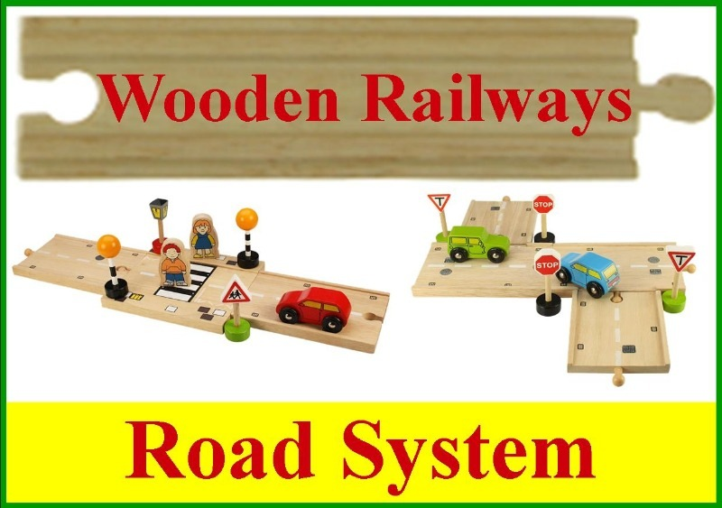 wooden road system