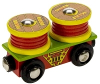 Bigjigs Cable Rolls Wagon