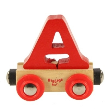 Bigjigs Rail Name Letter A