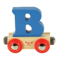 Bigjigs Rail Name Letter B