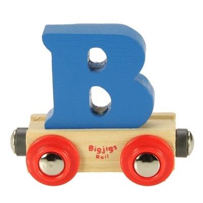 Bigjigs Rail Name Letter B