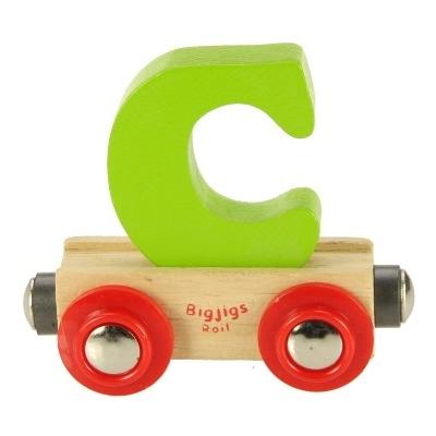 Bigjigs Rail Name Letter C