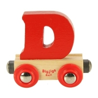 Bigjigs Rail Name Letter D