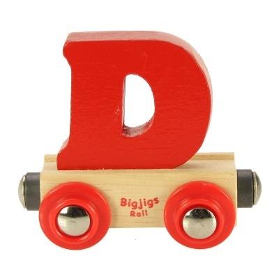 Bigjigs Rail Name Letter D