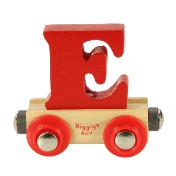 Bigjigs Rail Name Letter E