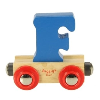 Bigjigs Rail Name Letter F