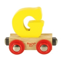 Bigjigs Rail Name Letter G