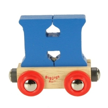 Bigjigs Rail Name Letter H