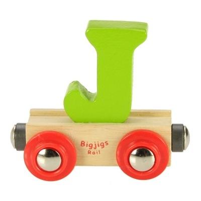 Bigjigs Rail Name Letter J