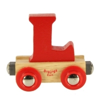 Bigjigs Rail Name Letter L
