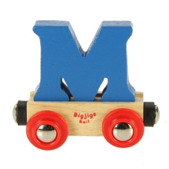 Bigjigs Rail Name Letter M