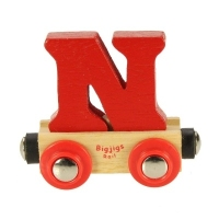 Bigjigs Rail Name Letter N