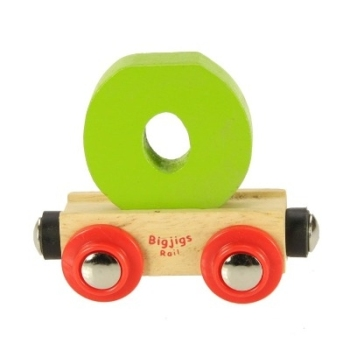 Bigjigs Rail Name Letter O