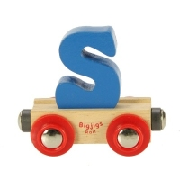 Bigjigs Rail Name Letter S