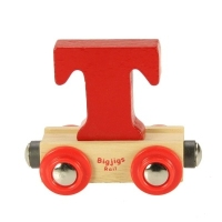 Bigjigs Rail Name Letter T