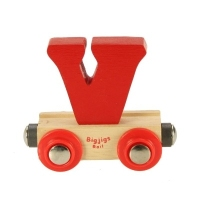 Bigjigs Rail Name Letter V