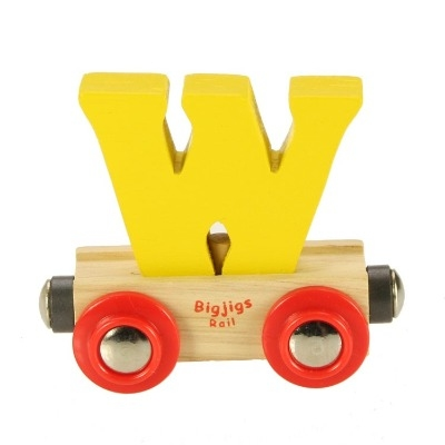 Bigjigs Rail Name Letter W